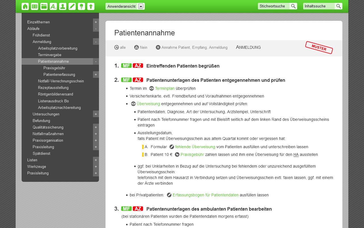 Zentrale Sammlung aktueller Vorlagen im QM-Handbuch - ISO 9001